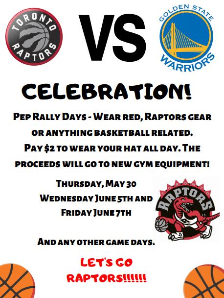 Let's Celebrate Toronto & the Raptors! – Lord Lansdowne PS